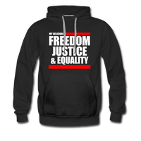 MY RELIGION IS Premium Hoodie - black