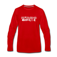 PROBLEM 13  Premium Long Sleeve T-Shirt - red