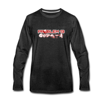 PROBLEM 13  Premium Long Sleeve T-Shirt - charcoal gray