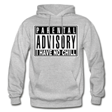 I HAVE NO CHILL Heavy Blend Adult Hoodie - heather gray