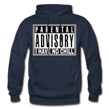 I HAVE NO CHILL Heavy Blend Adult Hoodie - navy