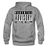 I HAVE NO CHILL Heavy Blend Adult Hoodie - graphite heather