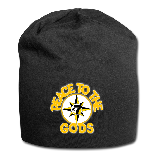 PEACE TO THE GODS Beanie - black