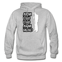 ALLAH Heavy Blend Adult Hoodie - heather gray