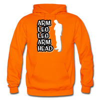 ALLAH Heavy Blend Adult Hoodie - orange