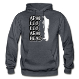 ALLAH Heavy Blend Adult Hoodie - charcoal gray