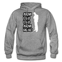 ALLAH Heavy Blend Adult Hoodie - graphite heather