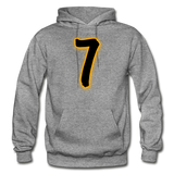 SEVEN Heavy Blend Adult Hoodie - graphite heather