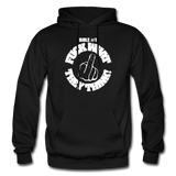 FUCK WHAT THEY THINK Heavy Blend Adult Hoodie - black