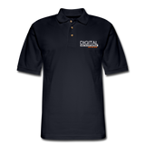 DIGITAL REAL ESTATE ADVISOR Pique Polo Shirt - midnight navy