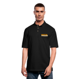DIGITAL REAL ESTATE ADVISOR Men's Pique Polo Shirt - black