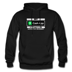 MY CASH APP MATTERS Heavy Blend Adult Hoodie - black