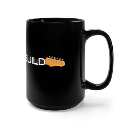 Guitar Guild Black Mug 15oz