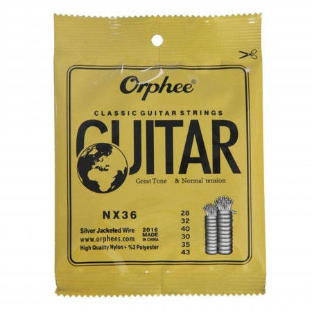 Orphee Nylon and Silver Plated Strings for Classical Guitar