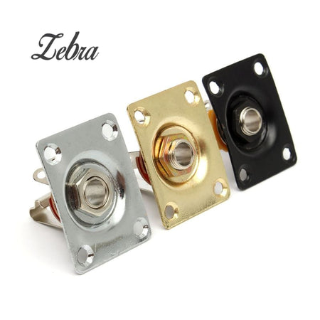 "Zebra 1/4"" Replacement Jack Socket"