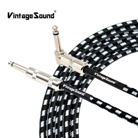 Electric Guitar Cable (10 or 20 Feet / Straight or Angled)
