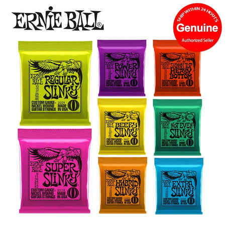 Genuine Ernie Ball Guitar Strings