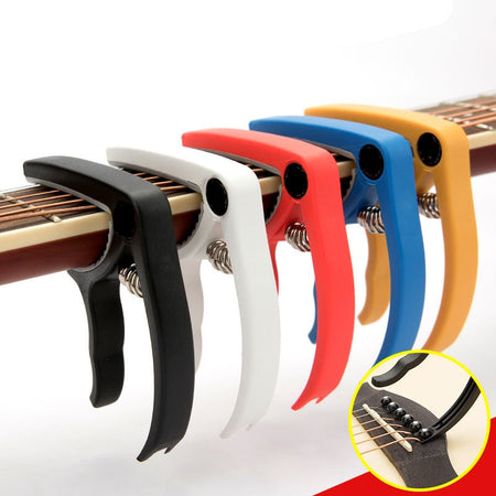 High Quality Durable Plastic Guitar Capo