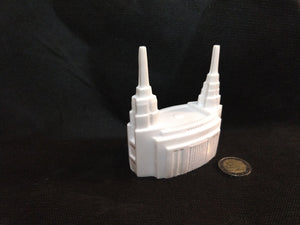 Mini LDS Rome Temple (Marble Resin)