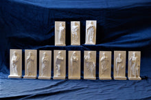 Load image into Gallery viewer, Marble Resin Relief Statuettes of the 12 Apostles designed by White Stone: Italian Sculpting & Fine Arts Studio