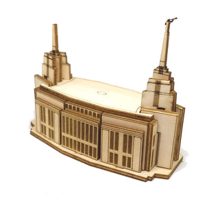WoodArt - Rome Italy Temple 3D Wooden Puzzle