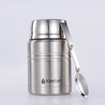 Keetan WIZARD Food Jar-Silver
