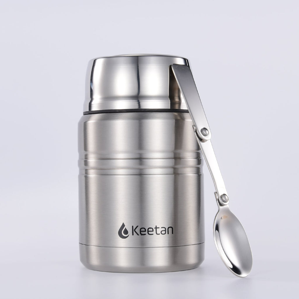 Keetan WIZARD Food Jar-Silver - Customized