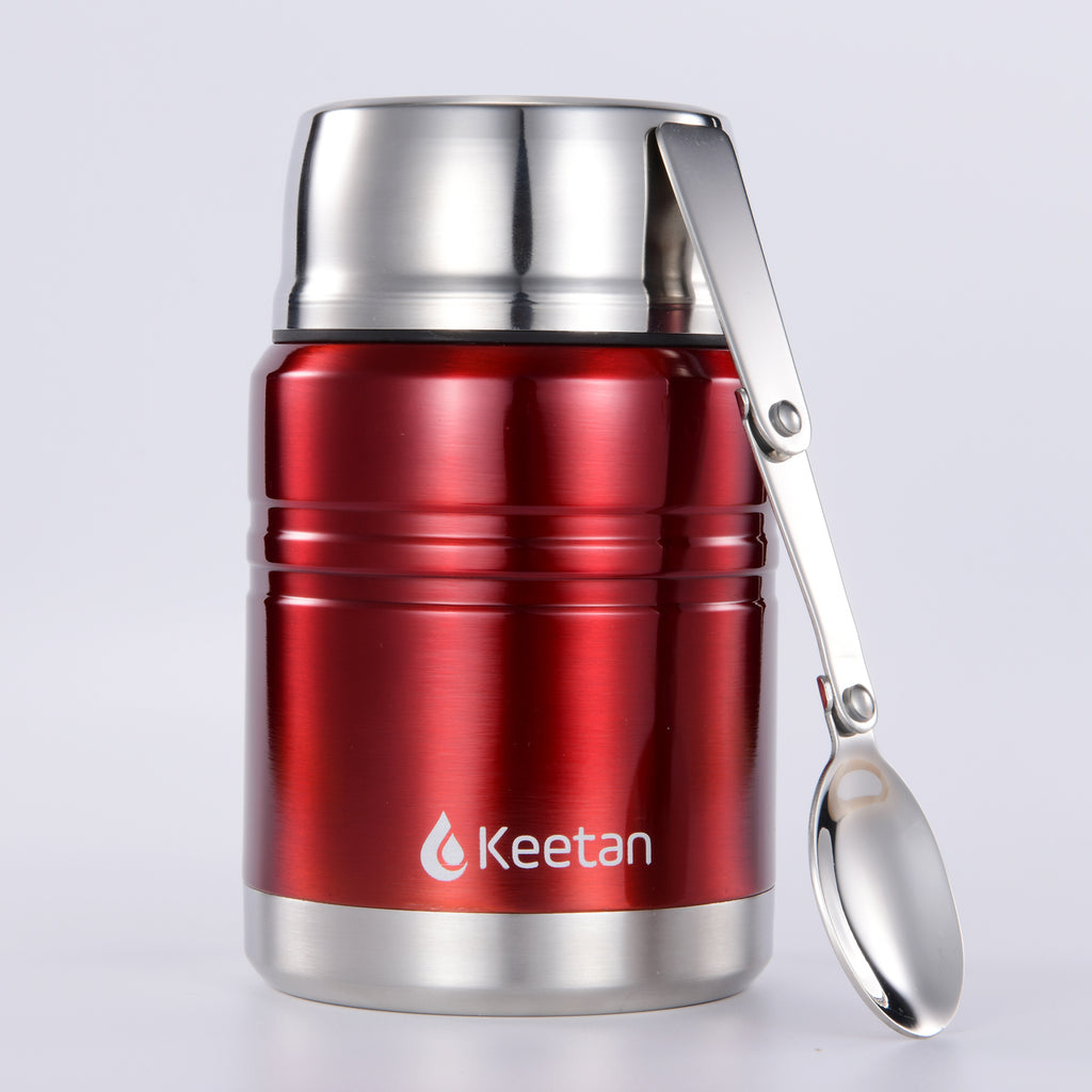 Keetan WIZARD Food Jar-Red