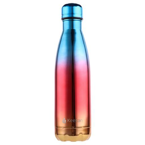 Keetan AIR Water Bottle-Blue Gold - Customized