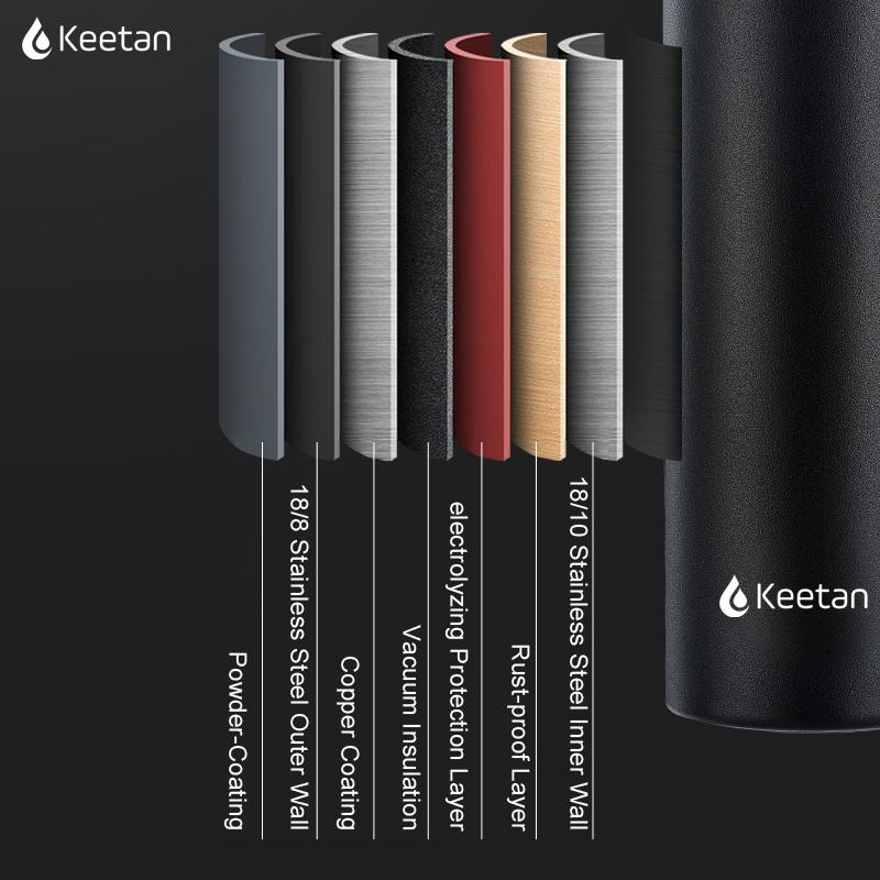 Keetan ALPS Water Bottle-Black