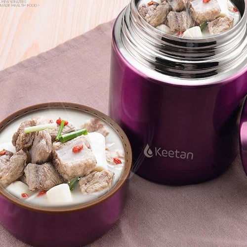 Keetan HUNTER Food Jar-Gold