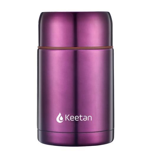 Keetan HUNTER Food Jar-Purple - Customized