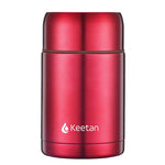Keetan HUNTER Food Jar-Red