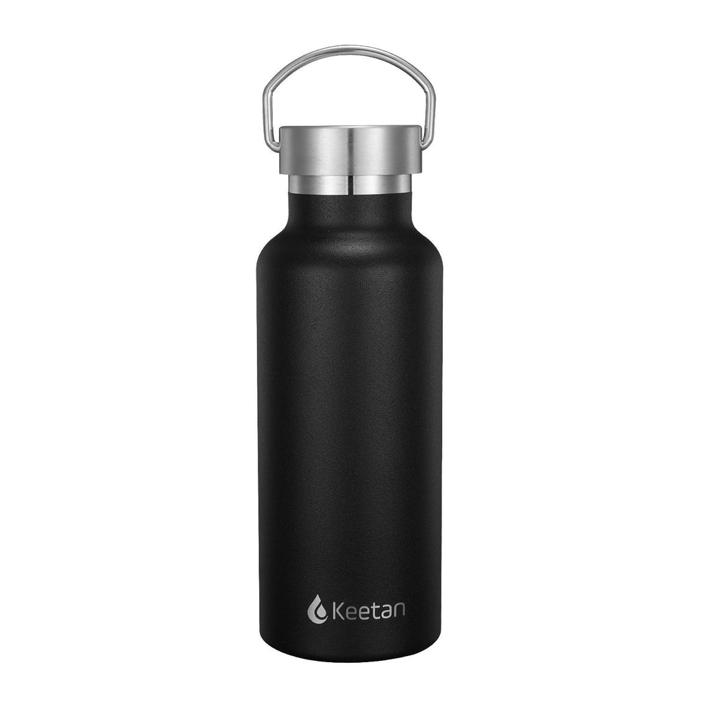Keetan POLO Water Bottle-Black - Customized
