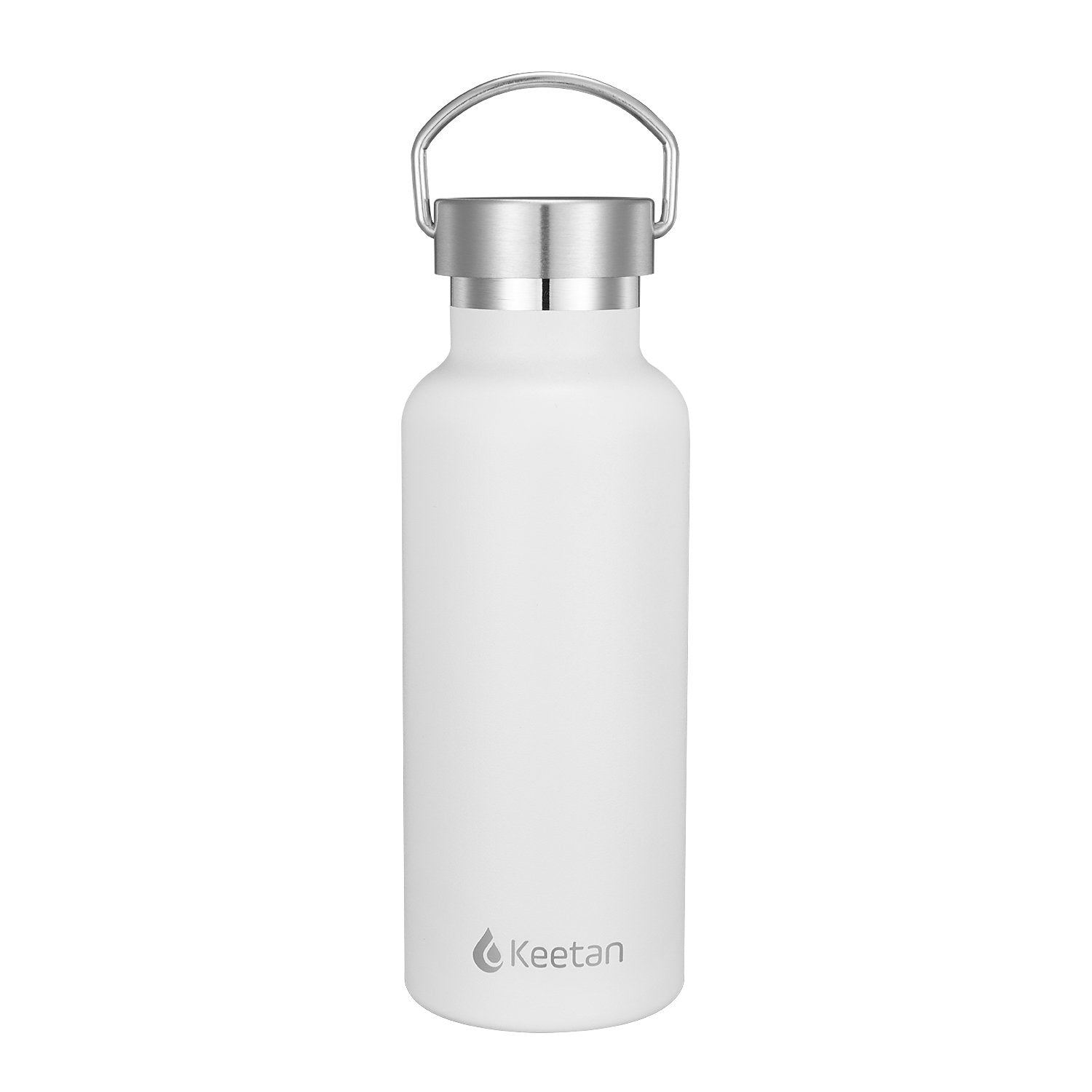 Keetan POLO Water Bottle-White