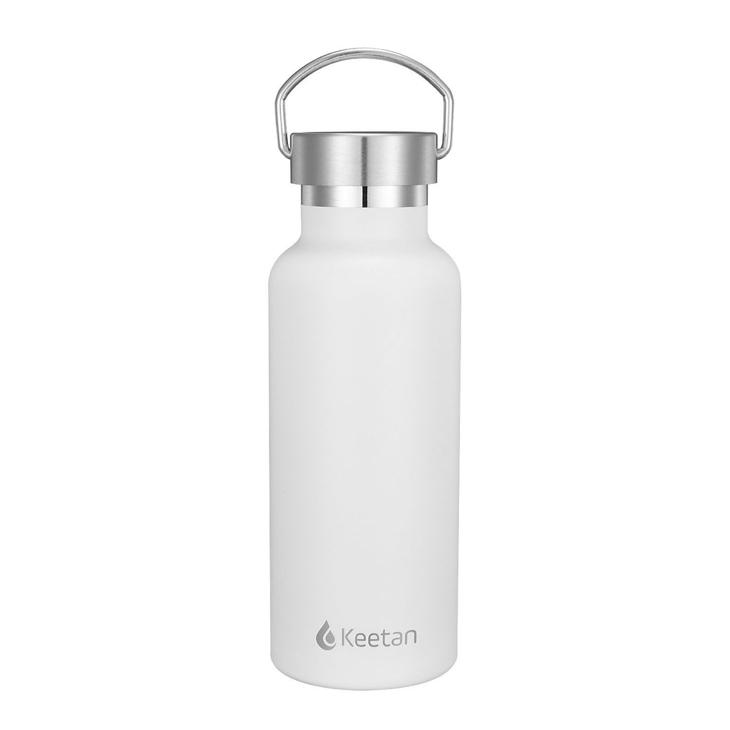 Keetan POLO Water Bottle-White - Customized