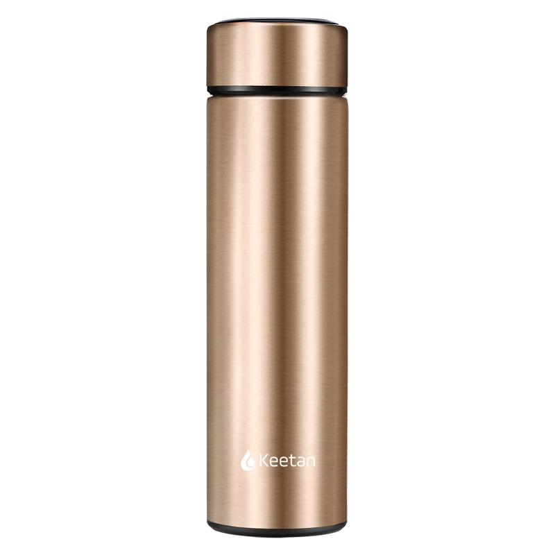 Keetan SHASTA Water Bottle-Gold