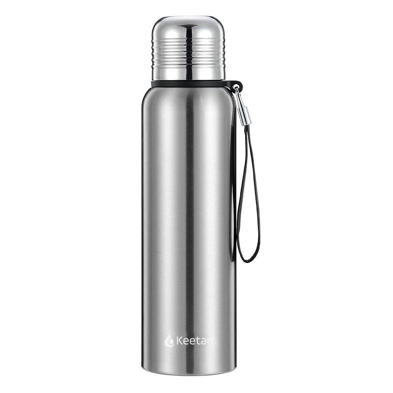 Keetan SUMMIT Water Bottle-Silver