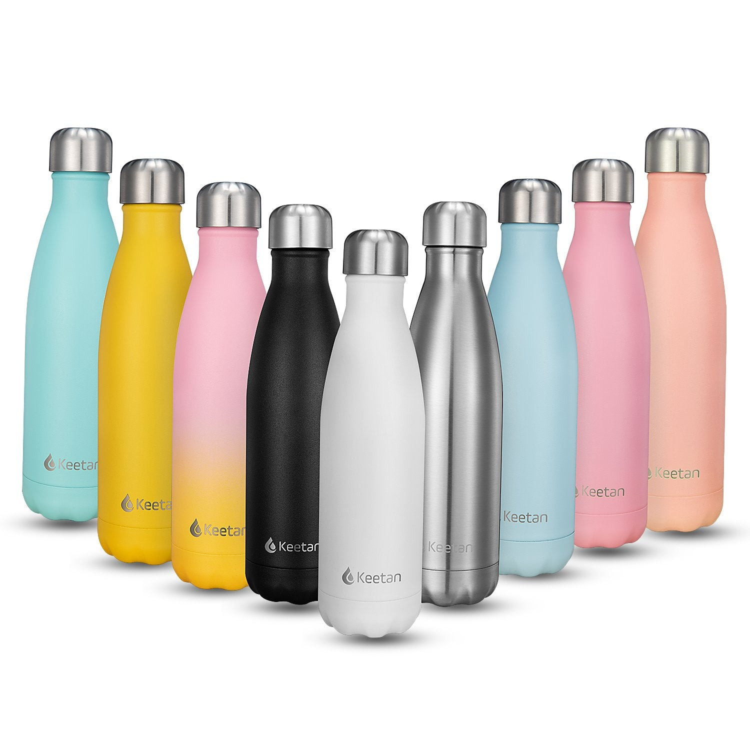 Keetan AIR Max Water Bottle-White
