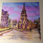Scottish Themed Coaster -Cottiers  Glasgow Westend High Quality Art.