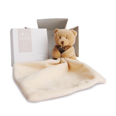 Super Soft Doudou Teddy Bear Comforter - French Design