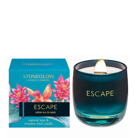 Stoneglow Candles - Infusion Escape White Tea & Mint Tumbler