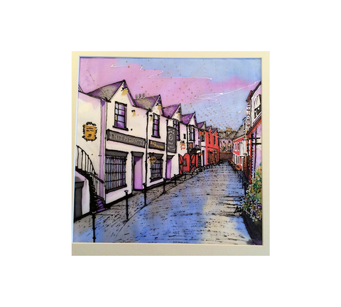 Scottish Themed Coaster-Ashton Lane High Quality Art.