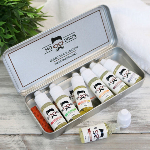 Beard Oil Gift Set - Perfect Gift For A Bearded Male