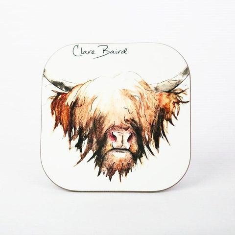Scottish Themed  - Highland Cow Coaster