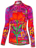 Cyclist Designer Top SEE ME WOMEN'S LONG SLEEVE BASE LAYER