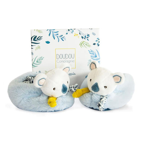 Quality - Super Soft -Doudou Koala Booties -French Design