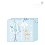 New Baby Gift Bag -Baby Boy Lantern - Medium