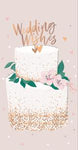 *NO CELLO BAG* Money Gift wallet-Weddingcake