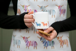 Hairy Coo Fine Bone China Colourful Mug.